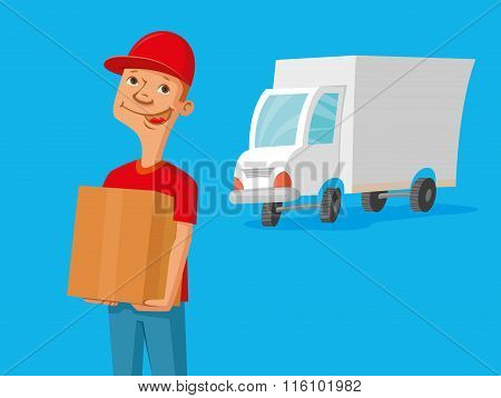 Delivery Service Man