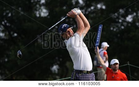 Alessandro Tadini At The Golf French Open 2015
