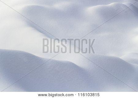Bizarre Shape Snow