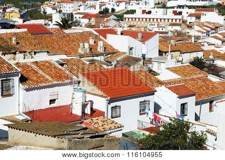 Town rooftops, Colmenar.