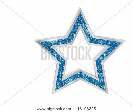 Pendant Star In The Frame