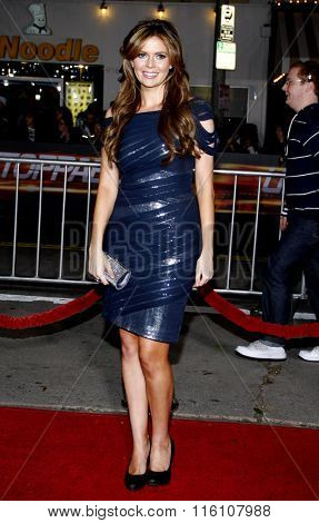 WESTWOOD, CALIFORNIA - October 26, 2010. Carly Steel at the Los Angeles premiere of