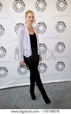 Christina Applegate at the Paley Center For Media Presents An Evening With