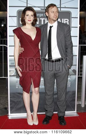 Jimmi Simpson and Melanie Lynskey at the Los Angeles Premiere of