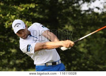 Oliver Wilson At The Golf French Open 2015