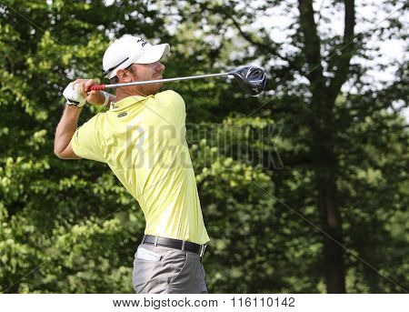 Chris Wood At The Golf French Open 2015