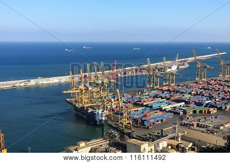 Port Of Barcelona - Logistics Area