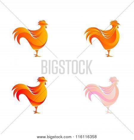 Chicken Logo Template.