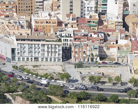 Residential Areas Of The Tourist City Of Alicante