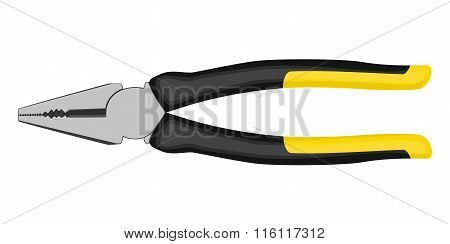Pliers With Rubberized Handles