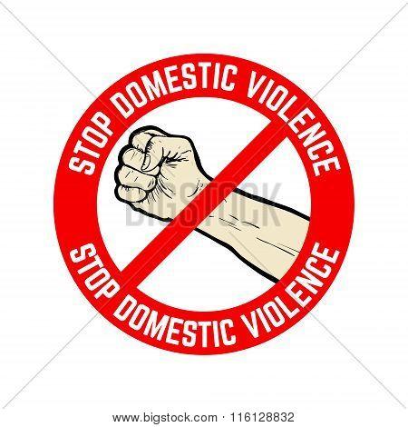 Stop Domestic Violence Emblem