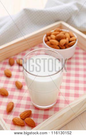 Almond Milk With Almonds