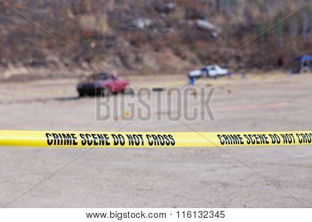 Explosion  Vehicle  Crime Scene