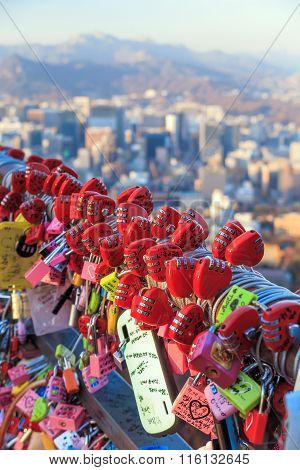 Namsan Tower In Seoul