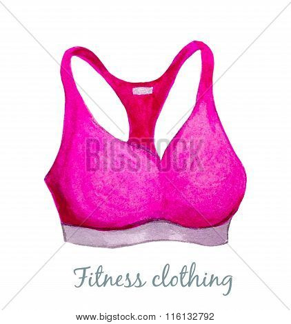 Sport Pink Bra
