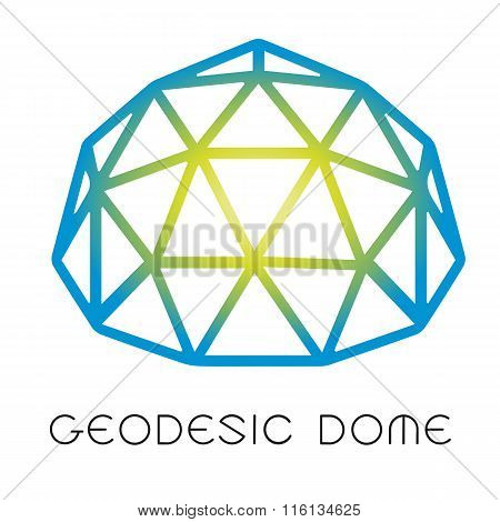 Geodesic dome logotype