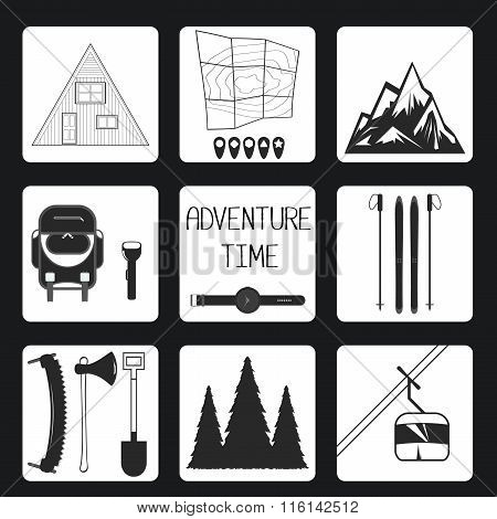 Adventure Time. Set icon
