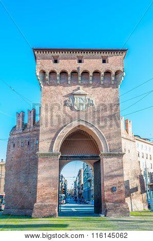 Porta San Felice In Bologna, Italy