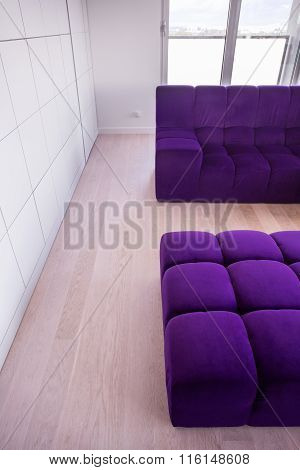 Purple And Comfortable