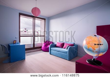 Spacious And Colorful