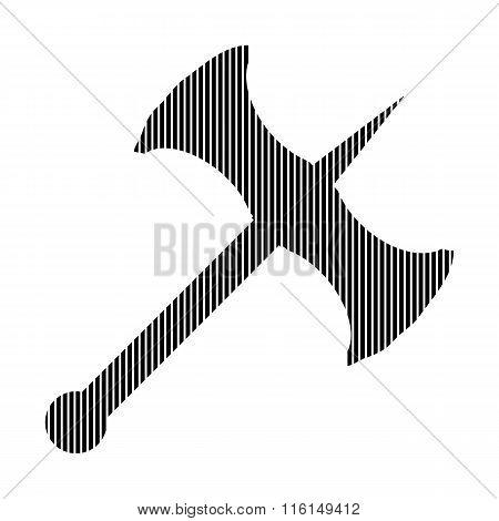Battle Axe Sign.