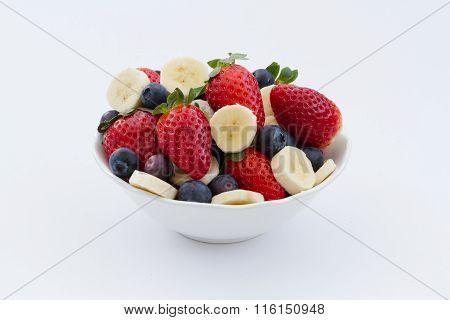 A Bowlful Of Fresh Fruit