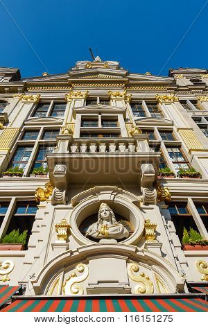 Historical Buildings In Brussels