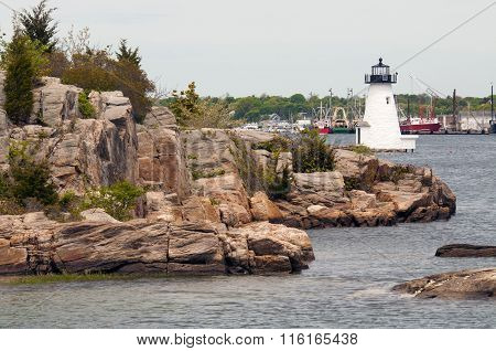 Palmer Island Lighthouse in Massachussetts