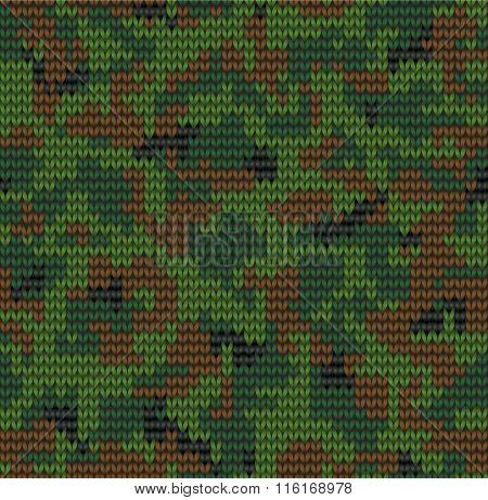 Digital Camouflage Pattern
