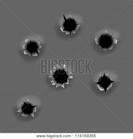 Bullet Holes Set