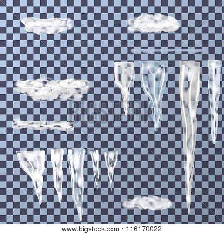 Set Of Icicles