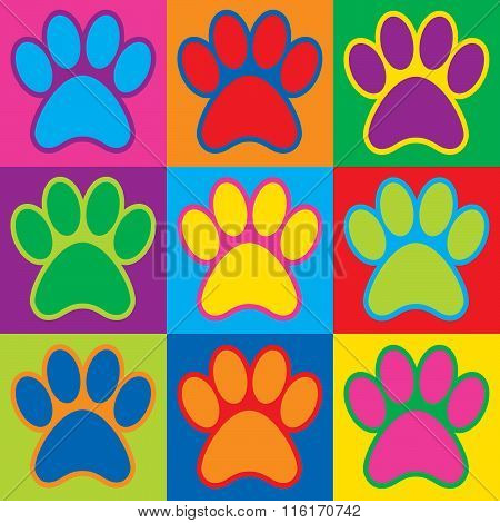 Pop Art Paws