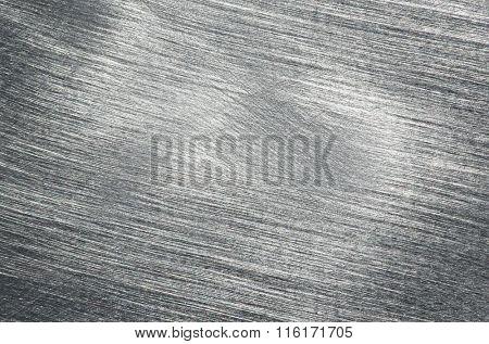 Brushed steel metallic background