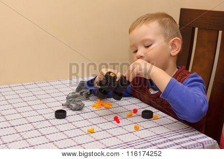 The Boy Assembles The Machine