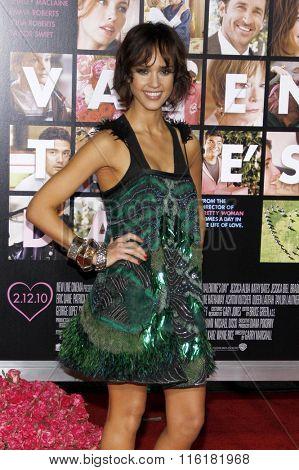 Jessica Alba at the World Premiere of