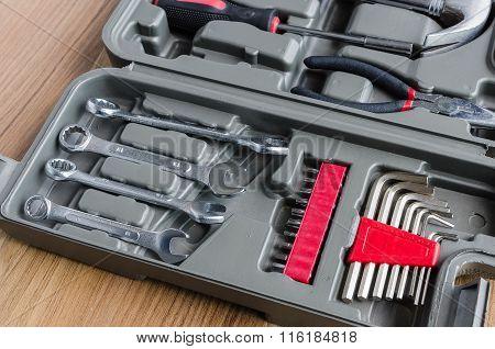 Box Set Of Metal Working Tools
