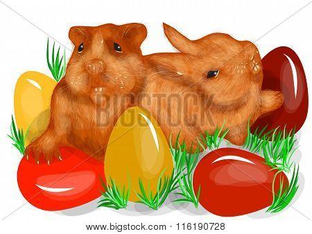 Animal Fun Easter