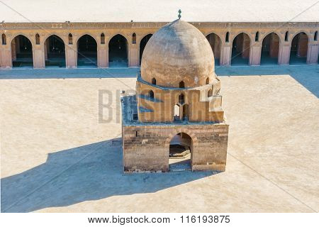 Ablution Fountain, Mosque Of Ibn Tulun, Egypt
