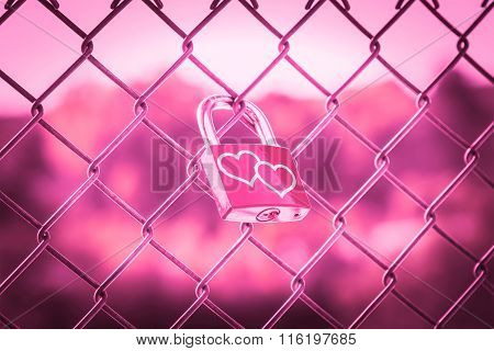 Love Lockers Pink Tone Style