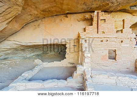 Mesa Verde National Park In Colorado, Usa