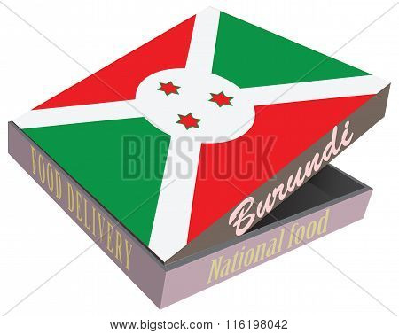 Box For Food Delivery To The Burundi Cuisine