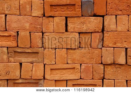 Red Bricks - Closeup
