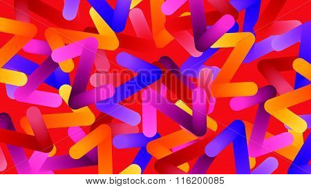 Colorful abstract z letter background