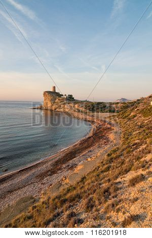 Secluded Costa Blanca Bay