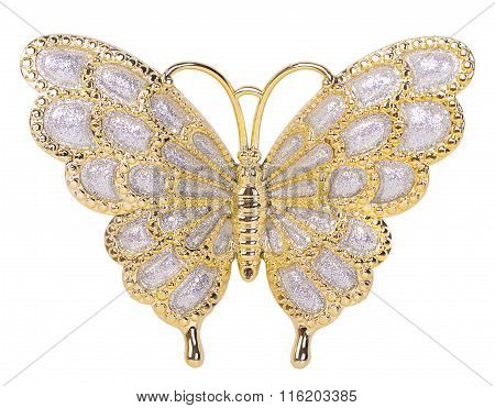 Gold Butterfly Decoration