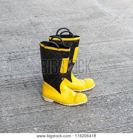 Shoes Safety For Firefighter