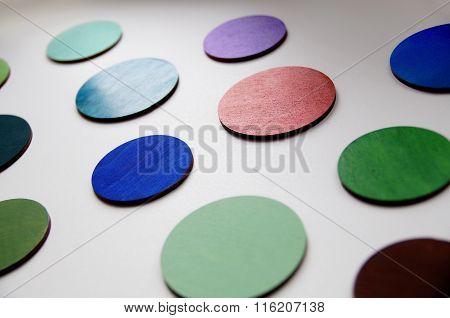 a colorful circles