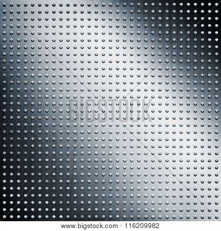 A Silver Metallic Texture