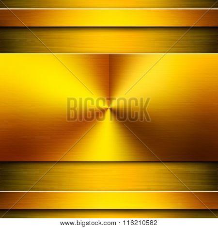 Gold Metal Background