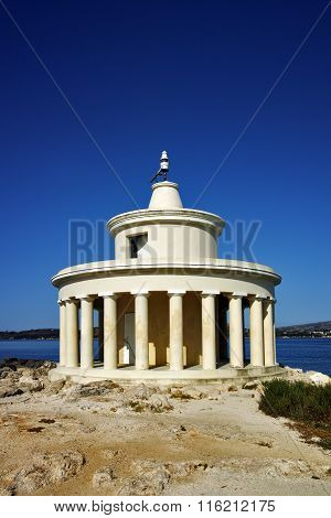 Panorama of Lighthouse of St. Theodore at Argostoli, Kefalonia, Ionian islands, Greece